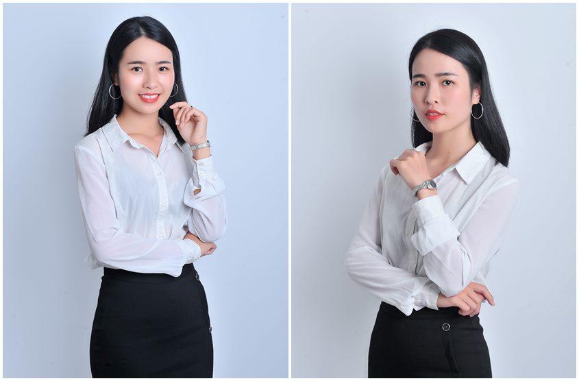 Chụp hình chân dung doanh nhân nữ